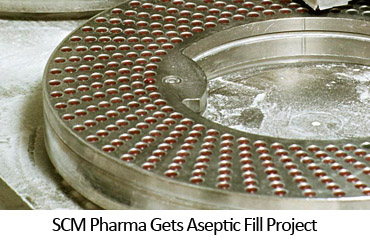 SCM Pharma Gets Aseptic Fill Project