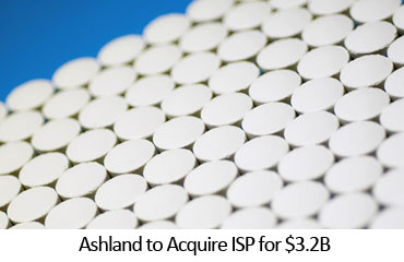 Ashland to Acquire ISP for $3.2B