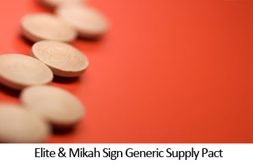 Elite & Mikah Sign Generic Supply Pact