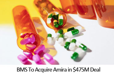 BMS To Acquire Amira in $475M Deal