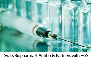 Swiss Biopharma 4-Antibody Partners with HGS