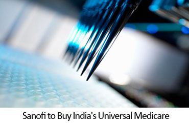 Sanofi to Buy India's Universal Medicare