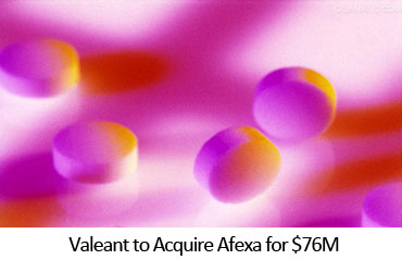 Valeant to Acquire Afexa for $76M