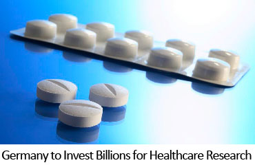 Germany to Invest Billions for Healthcare Research