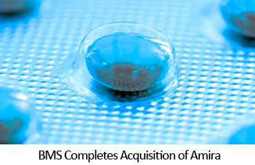 BMS Completes Acquisition of Amira
