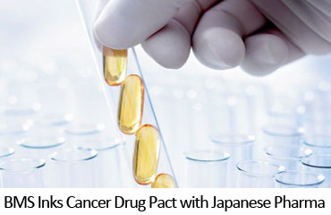 BMS Inks Cancer Drug Pact with Japanese Pharma