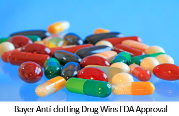 Bayer Anti-clotting Drug Wins FDA Approval