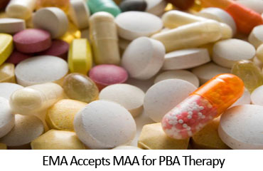 EMA Accepts MAA for PBA Therapy