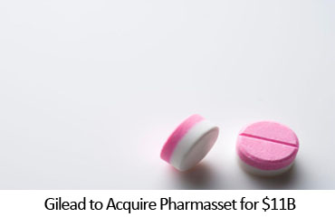 Gilead to Acquire Pharmasset for $11B