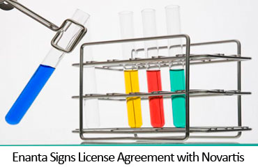 Enanta Signs License Agreement with Novartis