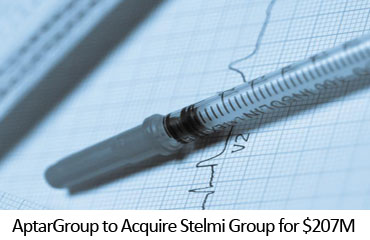 AptarGroup to Acquire Stelmi Group for $207M