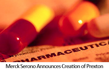 Merck Serono Announces Creation of Prexton