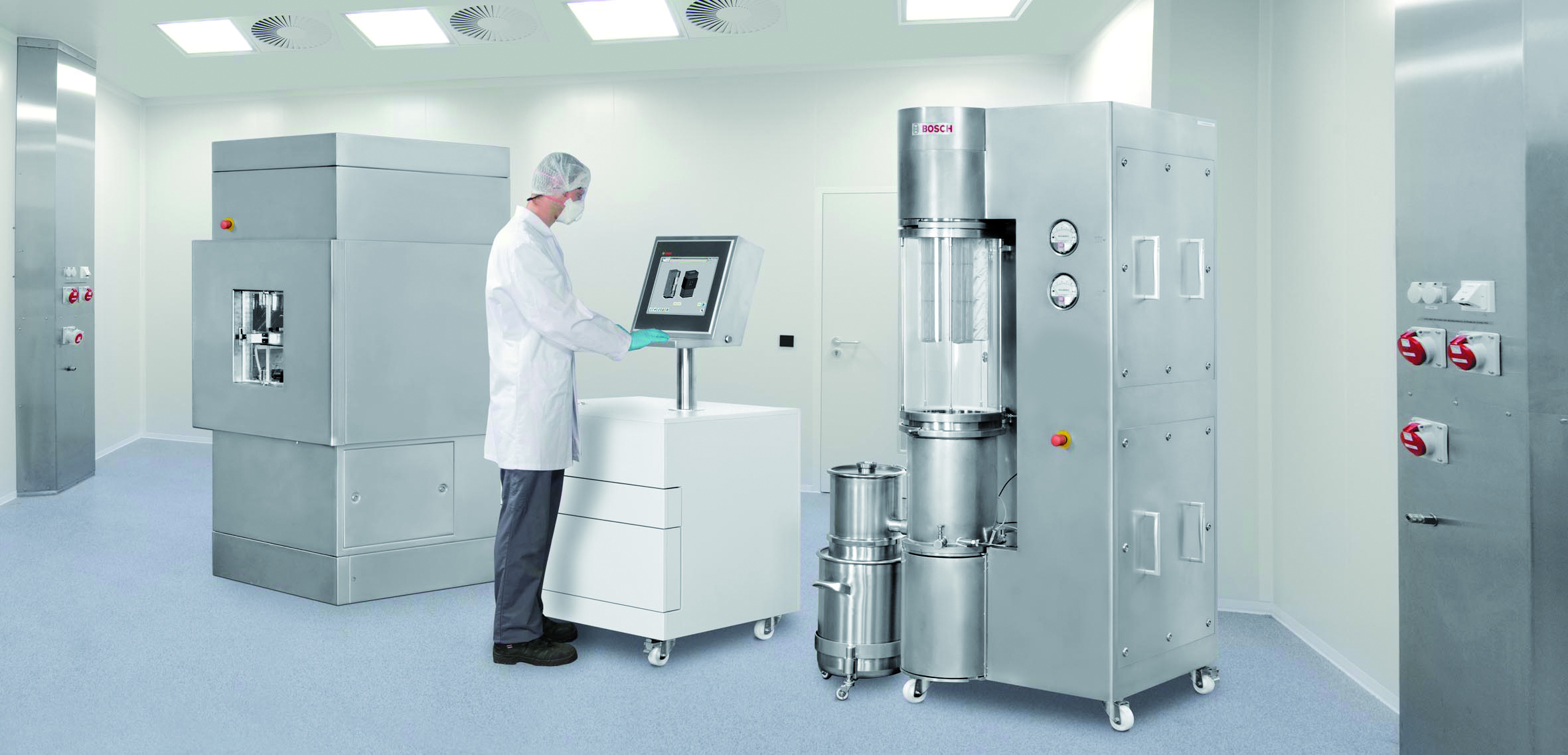 Bosch Packaging Technology Presents Laboratory Devices for Process Technology