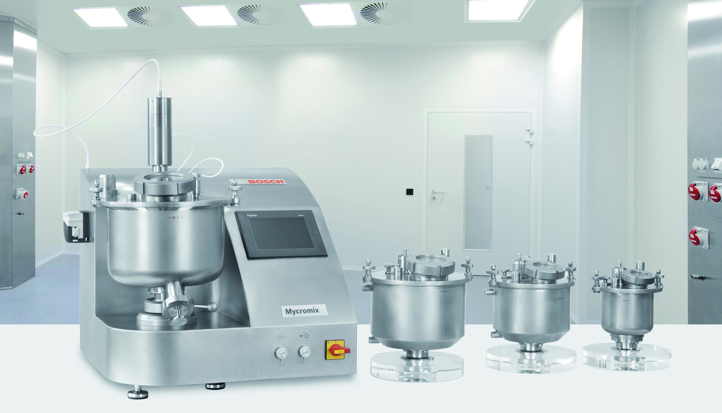 Bosch Presents Flexible Laboratory and Capsule Filling Equipment