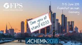 You're invited at ACHEMA 2018