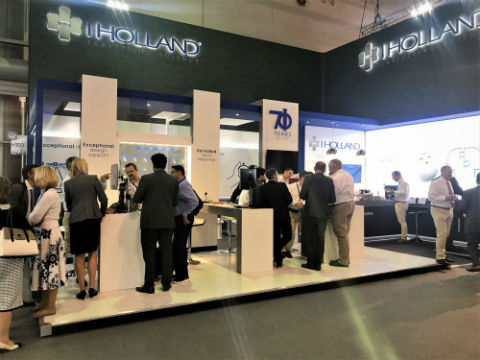 I Holland woos exhibition visitors with new tabletting technologies