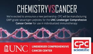 CPC Scientific Inc. and UNC Lineberger Comprehensive Cancer Center Announce Neoantigen Peptide Collaboration to Manufacture Neoantigen Peptides for the PANDA (Personalized and Adaptive) Cancer Vaccine Program.