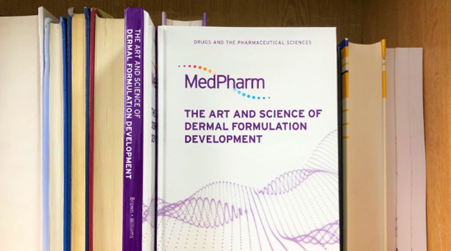 MedPharm's CSO and University of Reading Professor co-author new book on dermal formulation development