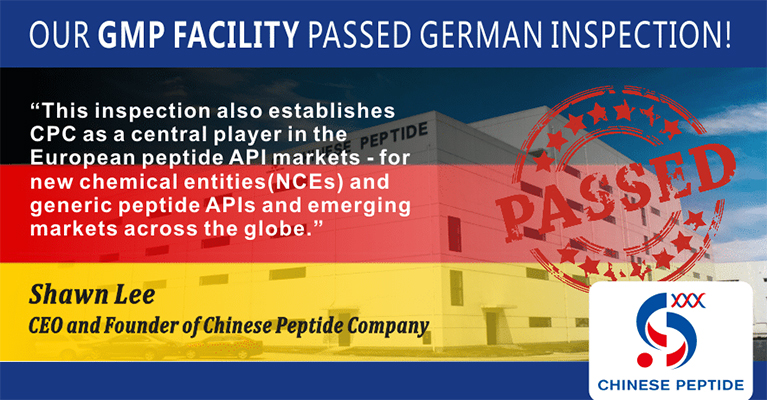 CPC's GMP Manufacturing Facility Passes German Inspection