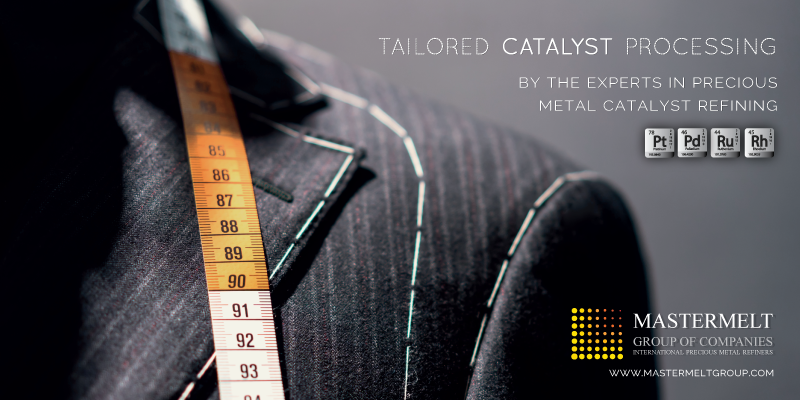 Tailored catalyst processing by the experts in precious metal catalyst refining