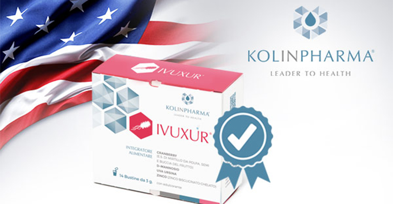 KOLINPHARMA® obtains the patent in the United States of America for IVUXUR®