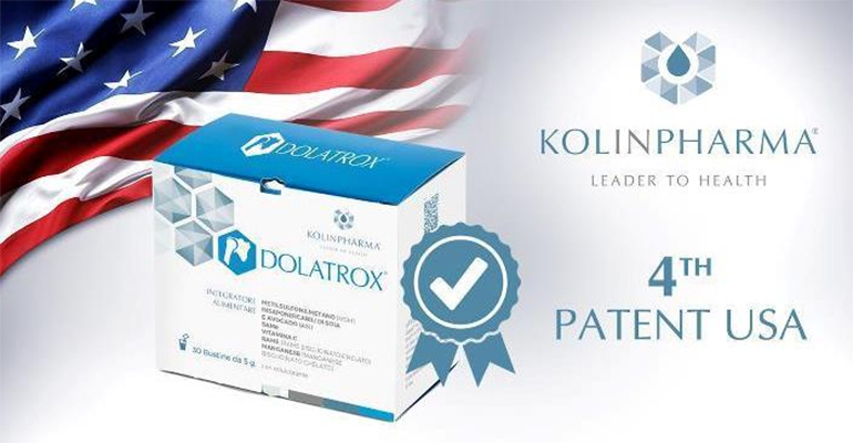 KOLINPHARMA® obtains a patent in the United States of America for Dolatrox®