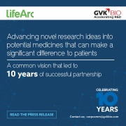 LifeArc And GVK BIO Celebrate A Decade Of Partnership, Transforming Research Into Life-Saving Medicines