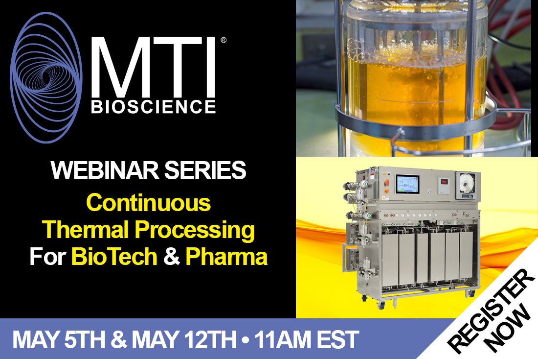Let's Get Thermal!: Continuous Thermal Processing Webinar Series