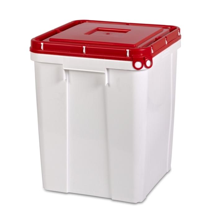 52L UN SquarePack HDPE container