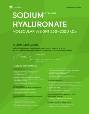 Sodium hyaluronate - type I