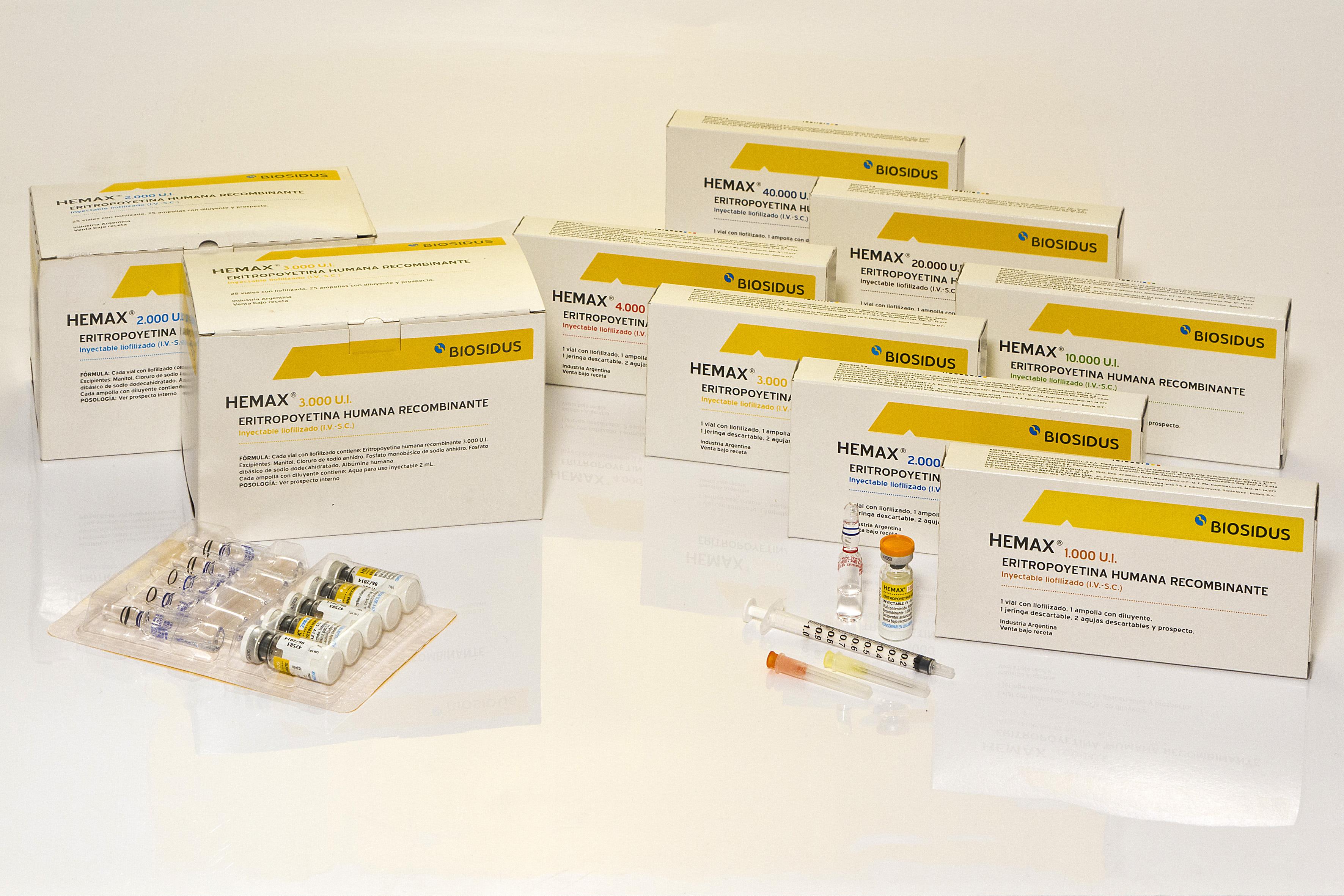 EPOETIN - ERYTHROPOIETIN - HEMAX / HYPERCRIT / EPOYET