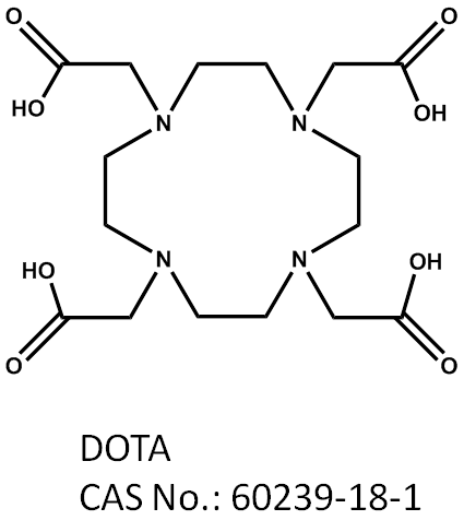 ??? DOTA (1,4,7,10-tetraazacyclododecane-1,4,7,10-tetraacetic acid)