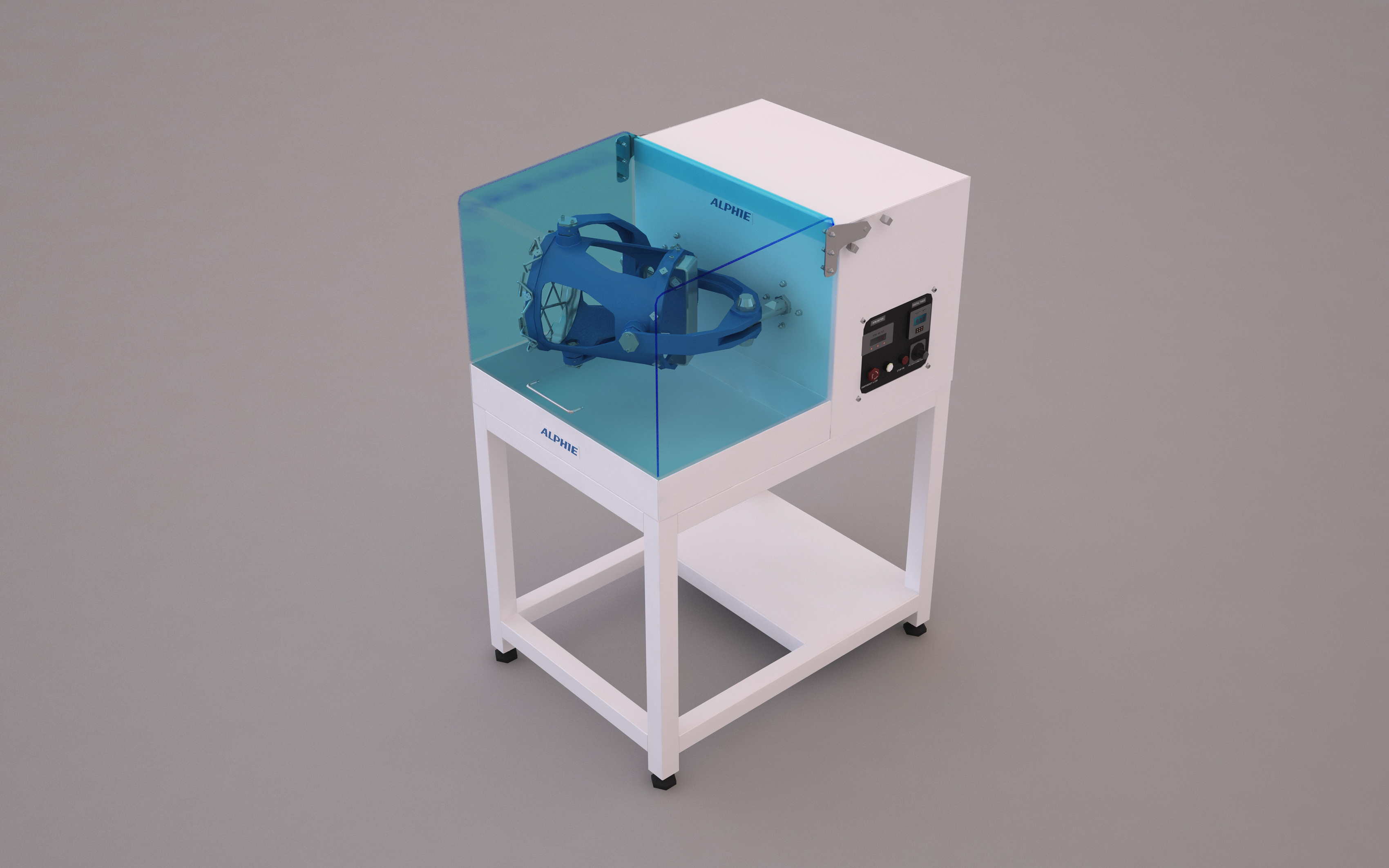 3D Tumbler Mixer For Pharmacy Lab