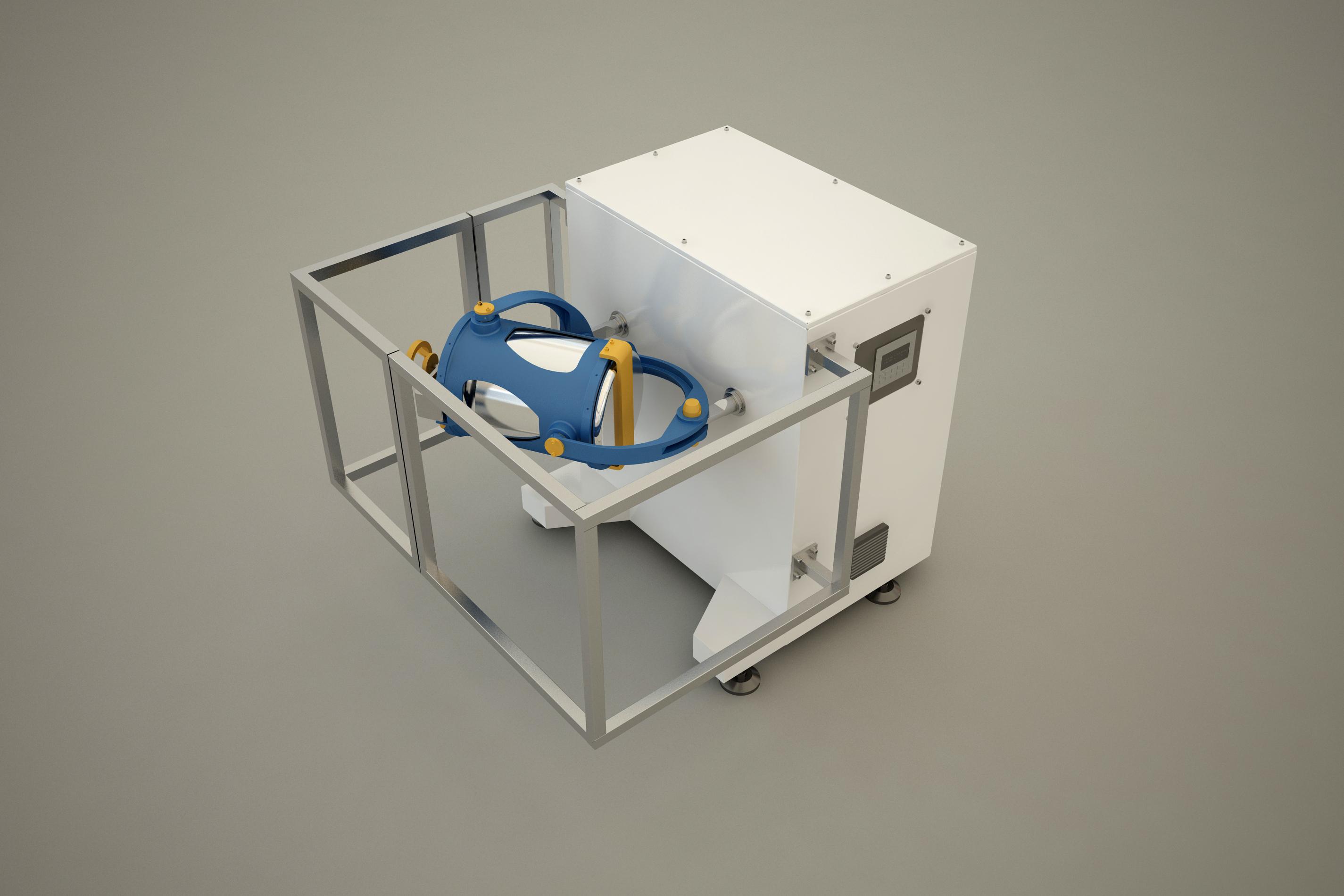3D Tumbler Mixer For Food Ingredients