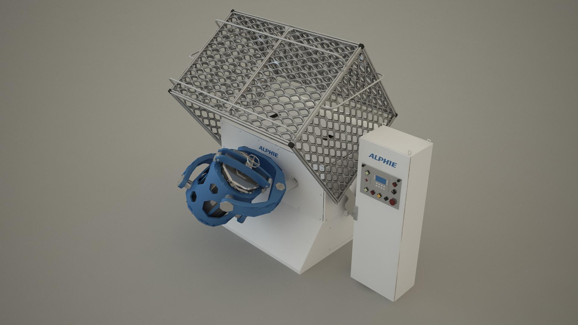 3D Tumbler Mixer For Formulation