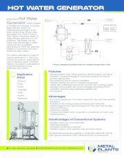 Single Fluid Heat Transfer System