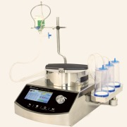 Sterility test pump and canister