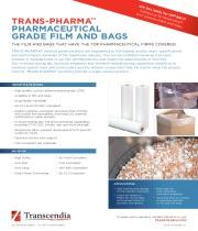 TRANS-PHARMA® PHARMACEUTICAL GRADE FILM & BAGS