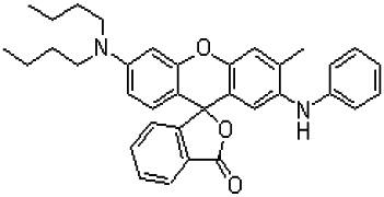2-Anilino-6-dibutylamino-3-methylfluoran