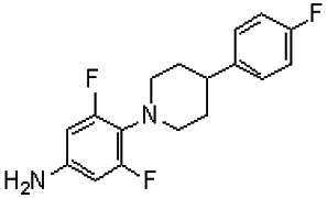 3,5-Difluoro-4-[4-(4-fluorophenyl)piperidin-1-yl]aniline