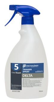 CleanGuard5 Trigger Spray - Delta (Sterile)