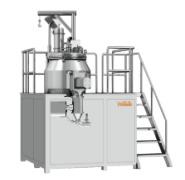 High shear mixing granulator