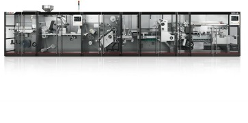 C80HS - Blister packaging machine with integrated cartoner