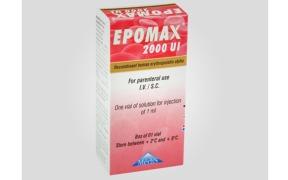 EPOMAX 2000 (RECOMBINANT HUMAN ERYTHROPOEITIN ALPHA? 2000 UI / 1 ml)
