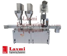 AUGER POWDER FILLING & CAPPING MACHINE