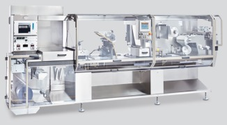 nMX High speed blister packaging machine with plate sealing