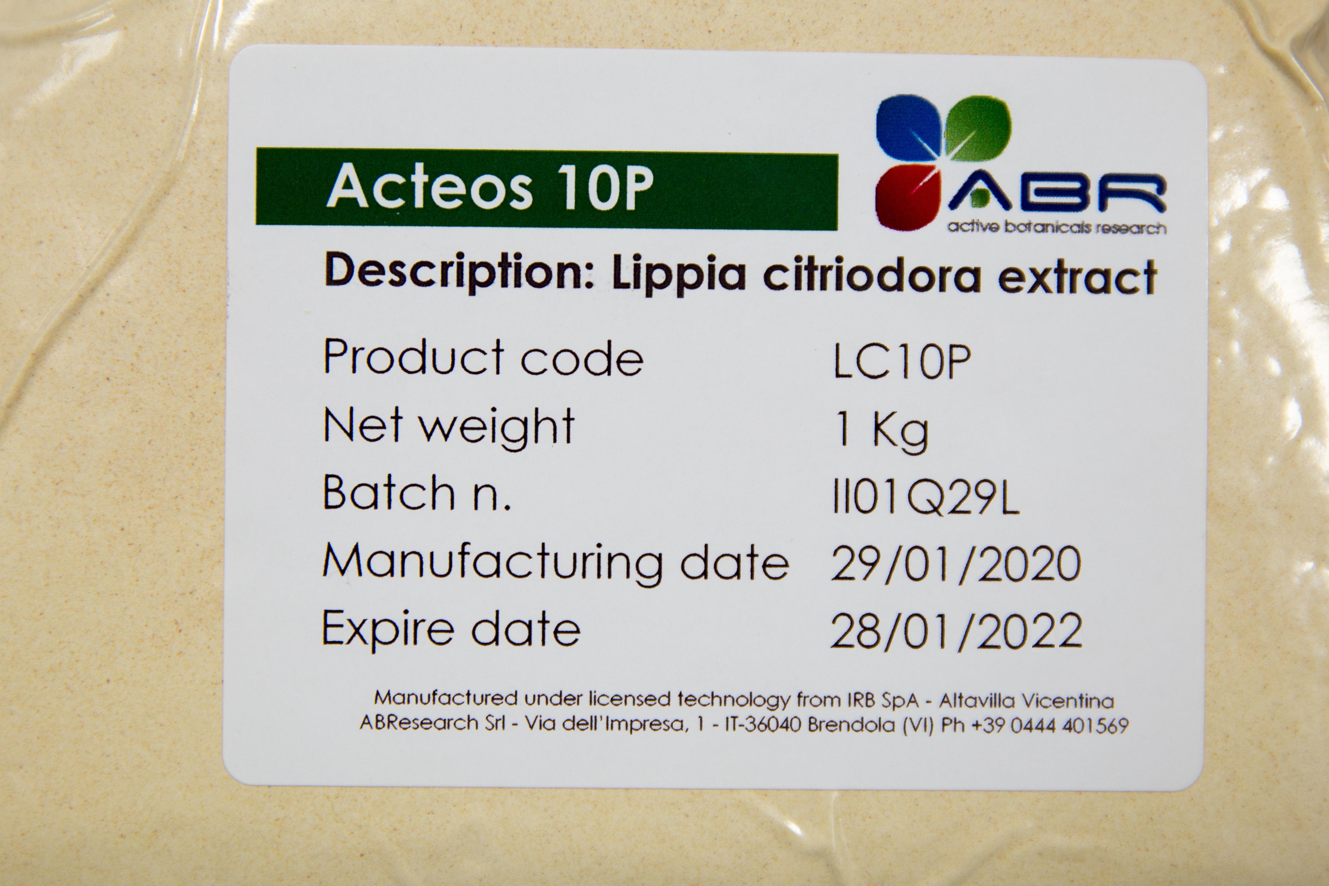 ACTEOS 10P - Lippia citriodora cell culture extract