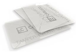 Tamper-evident labels and seals