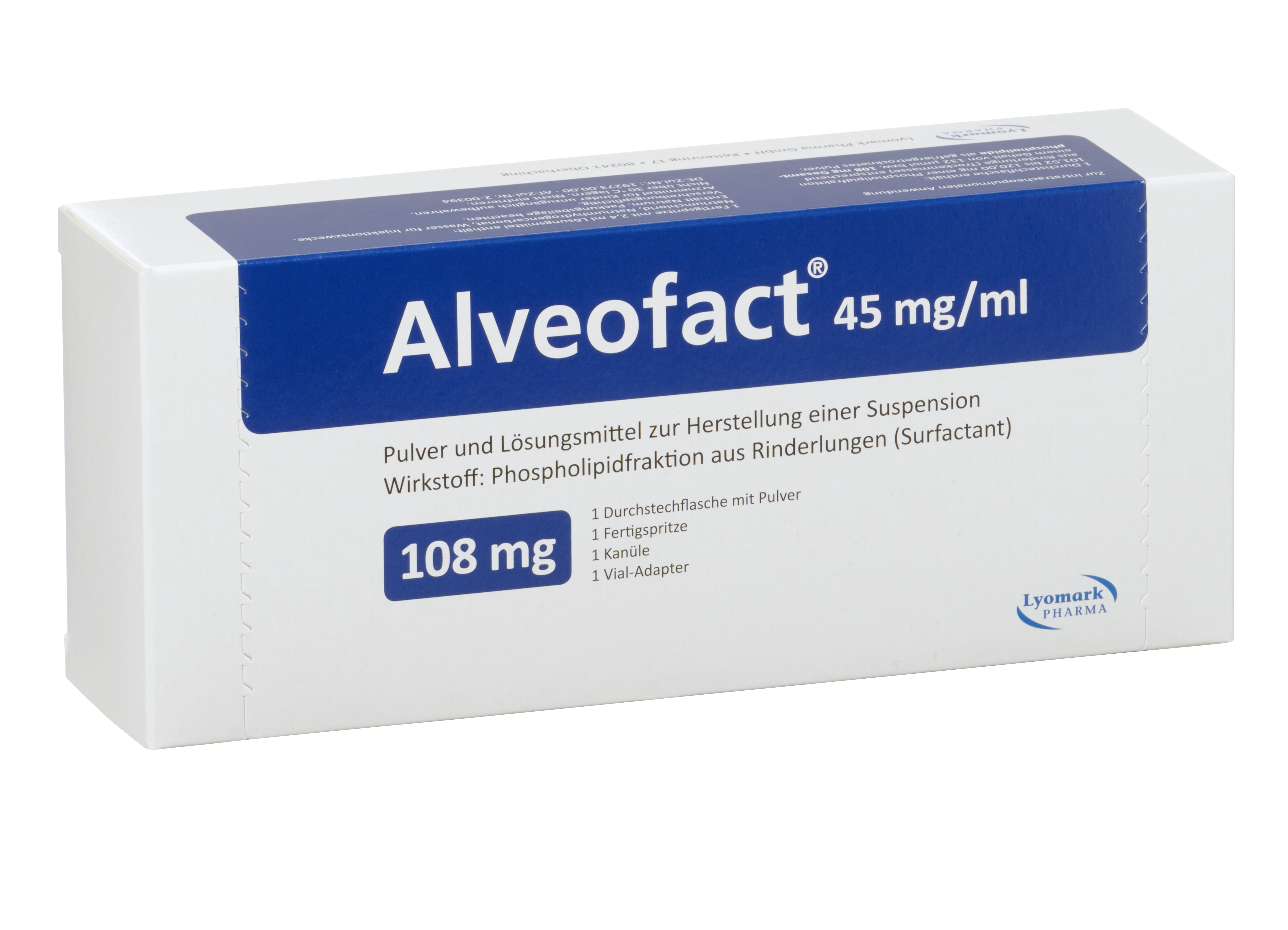 Alveofact® - Natural bovine lung surfactant