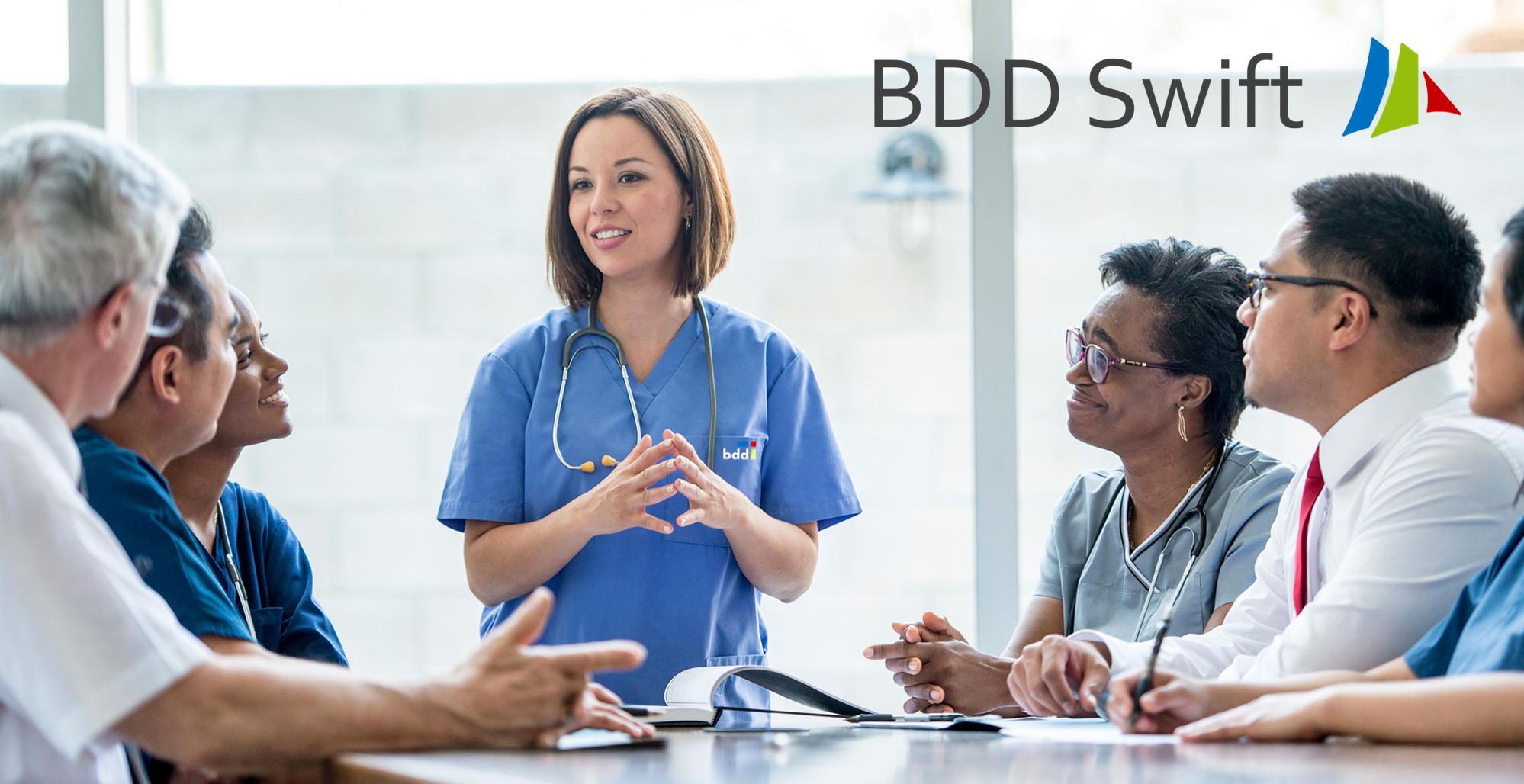 BDD Swift - adaptive clinical studies